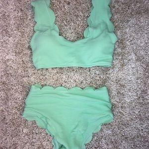 Green Shein Bikini